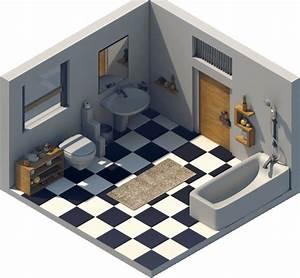 Logiciel 3d Salle De Bain : logiciel 3d pour salle de bain sol d pour salle de bain ~ Dailycaller-alerts.com Idées de Décoration