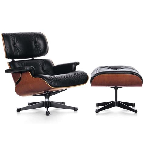 vitra lounge chair and ottoman by charles eames