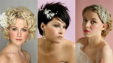lovely wedding hairstyles  short hair youtube