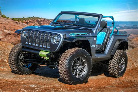 Jeep Car : Jeep Reveals Seven Concept Cars For Easter Jeep Safari