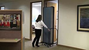 How, To, Roll, A, Room, Divider, Through, Doorway
