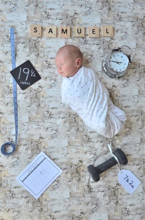 baby strler bemalen newborn photography weight length time date baby fotoshooting