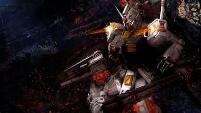 Gundam Wallpapers Background Suit Mobile Anime Zaku