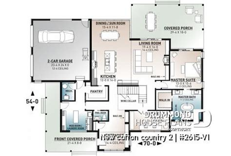 house plan  cotton country     house plans drummond house plans bedroom house plans