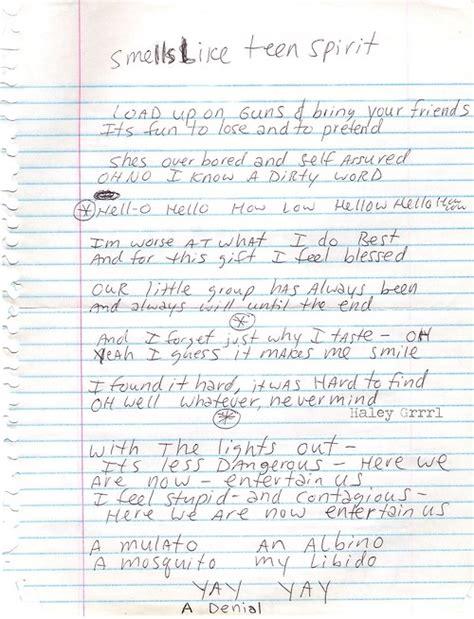 kurt cobain letter kurt cobain note quotes quotesgram 22673 | 2046866280 tumblr l2bzmcB7Ul1qao52xo1 500