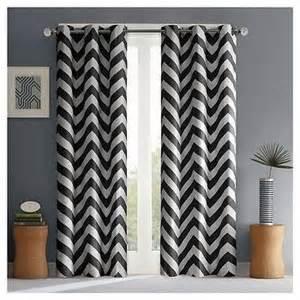 nate berkus origami print curtain panel
