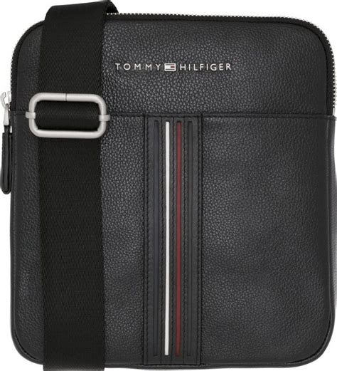 tommy hilfiger tasche inlay leather mini crossover