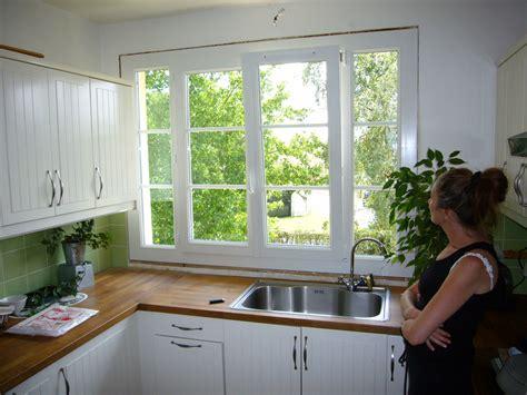 cuisine fenetre rénovation d 39 une maison en seine et marne chantier 4 la cuisine