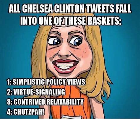 Chelsea Clinton Memes - brutal meme reveals what all chelsea clinton s tweets amount to