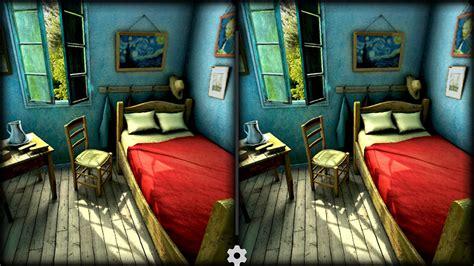 chambre de gogh chambre bleu gogh design de maison
