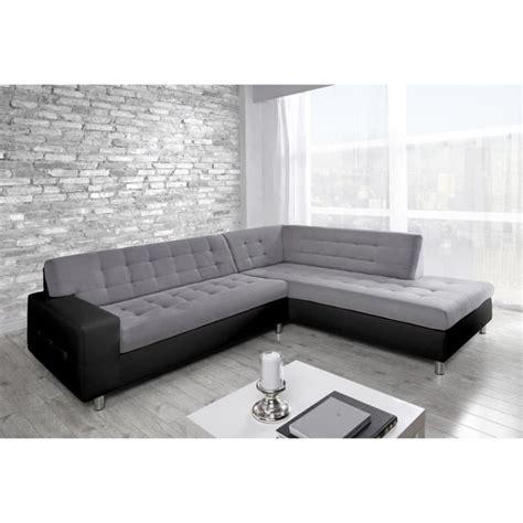 canapé 6 places droit java canapé d 39 angle droit simili et tissu 6 places achat