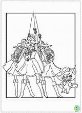 Barbie Musketeers Coloring Three Pages Print Dinokids Muskateer Popular Printable Coloringhome Close Results sketch template