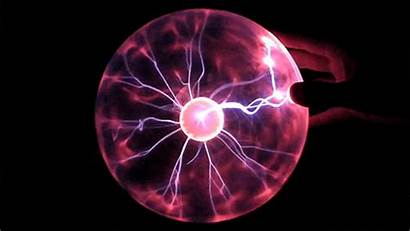 Plasma Ball Tesla Warning Physics Animated Science