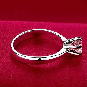 Fashion 925 sterling silver plated cubic zirconia for Sterling silver cubic zirconia wedding rings