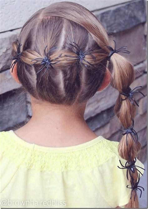 crazy scary cool halloween hairstyle ideas  kids girls  modern fashion blog