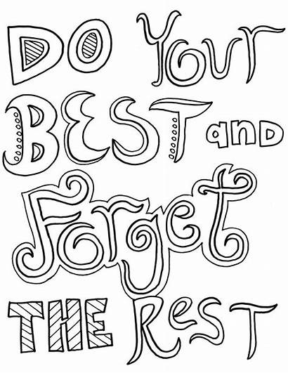 Coloring Inspirational Scripture Quotes Adults