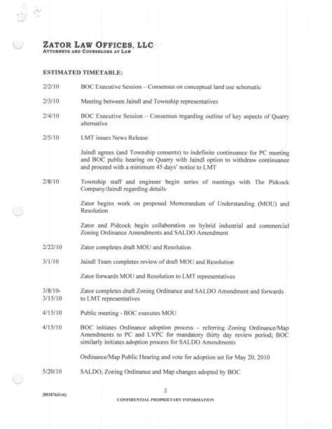 timeline memo template jaindl timeline open and transparent process