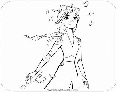 Coloring Frozen Elsa Disney Disneyclips Colouring Characters