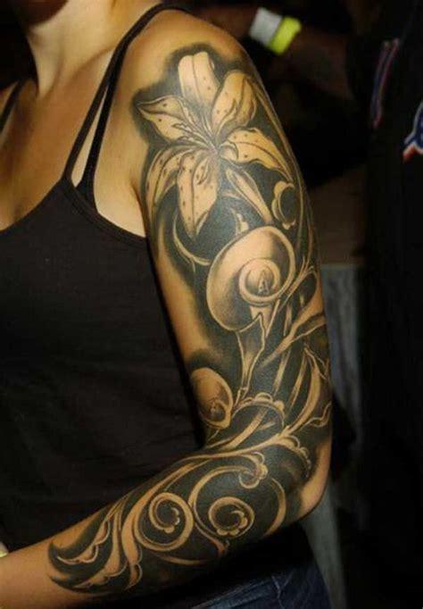 ideas flower tattoo sleeve tattoofanblog