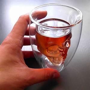 Verre A Whisky Tete De Mort : verre alcool t te de mort cr ne suspendu 170 ml en verre ~ Teatrodelosmanantiales.com Idées de Décoration