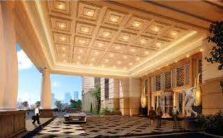 3d design hotel entrance ceiling design 3d 3d house