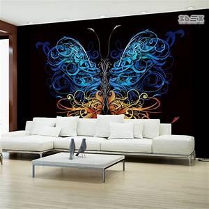 +40 Stylish 3D wallpaper for living room walls, 3D wall murals