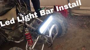 How To Install Led Light Bar On Atv