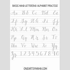 Calligraphy Practice2pdf  Hand Lettering  Calligraphy Worksheet, Hand Lettering, Lettering