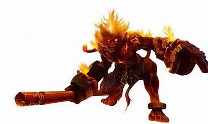 Wukong Legends League Volcanic Render Deviantart Before