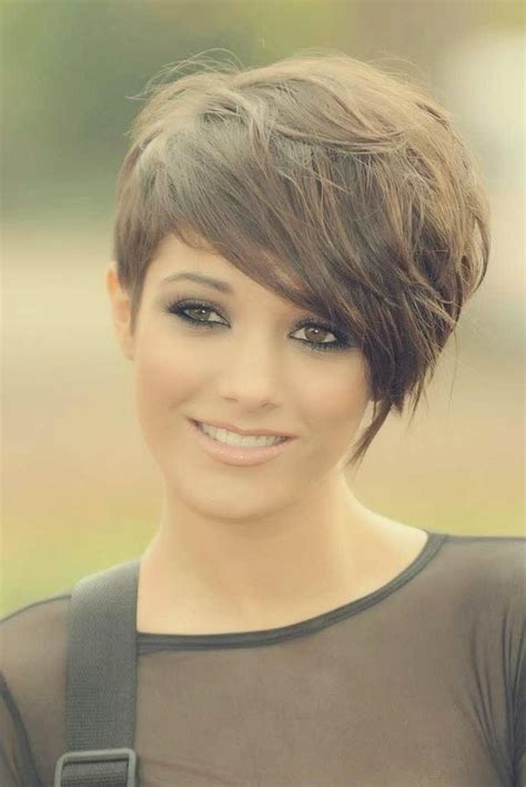 collection  short haircuts   side longer
