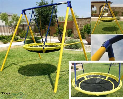 Kid Swing Set by Swing Sets For Backyard Playground Children Yard