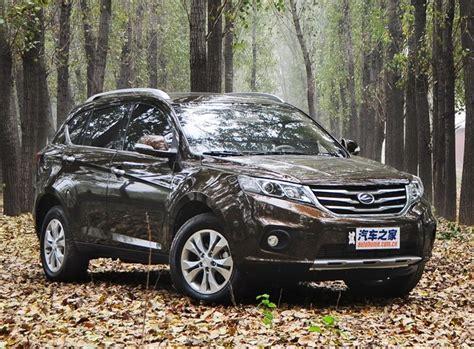 landwind  suv launched   china car market