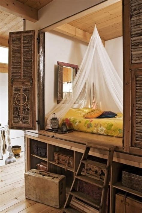 super practical hidden beds  save  space digsdigs