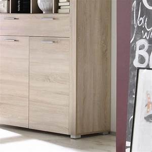 buffet haut moderne couleur chene clair With couleur de meuble tendance 5 buffet haut chene clair moderne crossing