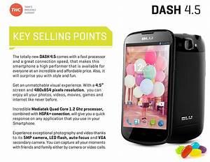 Wholesale Brand New New Blu Dash 4 5 D310a Black Gsm