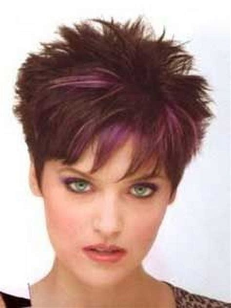 spiky short haircuts  women