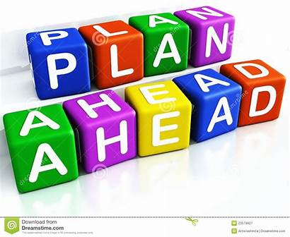 Plan Ahead Planning Clip Clipart Prepare Royalty