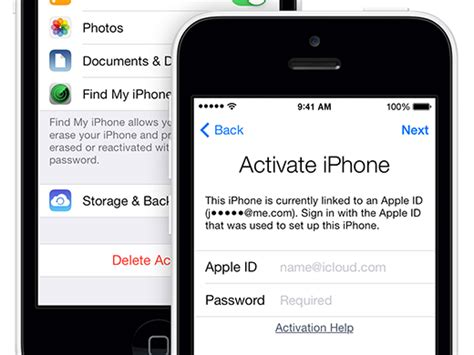 how to a locked iphone how to enable activation lock in ios 7 from iphone ipod