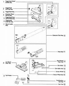 Dyson Model Dc39 Vacuum  Upright Genuine Parts