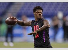 Draft breakdown Taking the right quarterback would be