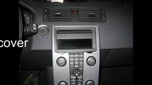 Radio Remove Volvo C30