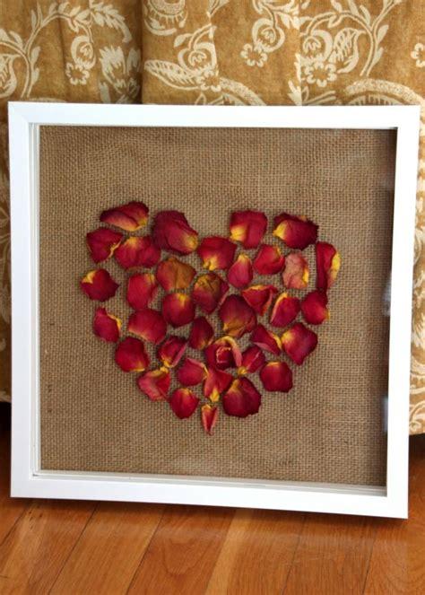 dried flower shadow box craft hgtv