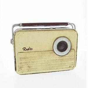 Poste Radio Vintage : poste de radio vintage 22x6 5x17cm mobilier de d coration d coration retif ~ Teatrodelosmanantiales.com Idées de Décoration