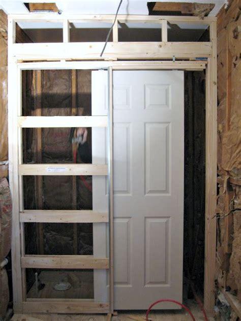 install pocket door house   pinterest