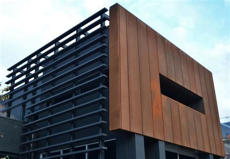 corten panels cassette panel corten design cladding yandeximages exterior wall cladding