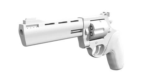 magnum revolver cgtrader
