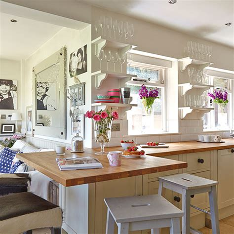 kitchen decorating ideas uk neutral country kitchen with bright decor decorating