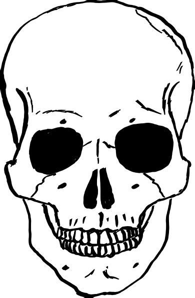 human skull clip art  clkercom vector clip art