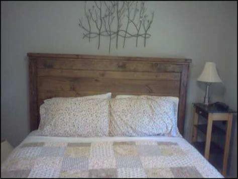 ana white reclaimed wood farmhouse style headboard