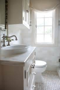 White Small Bathroom Remodel